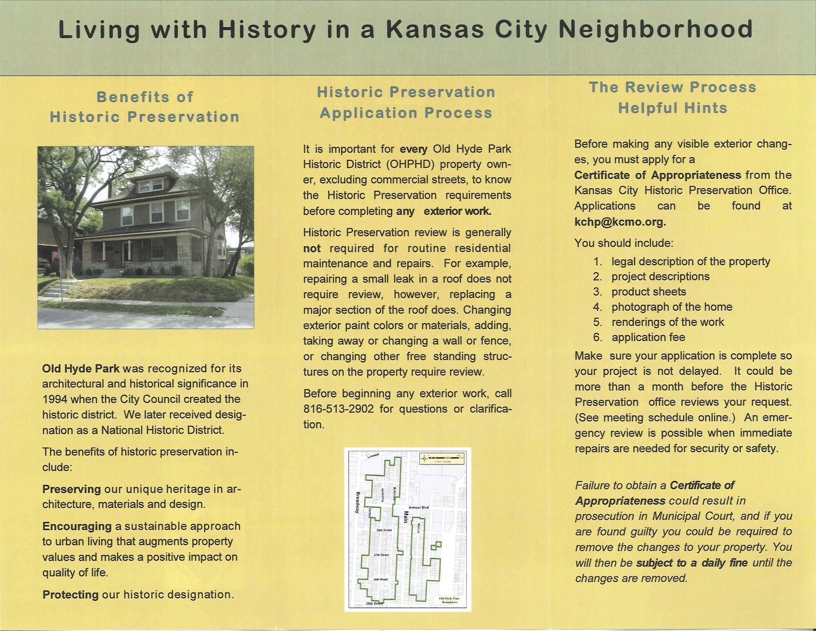 Welcome Brochure for New Residents | CommunityKC